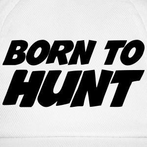Born to Hunt Kasketter & Huer - Baseballkasket