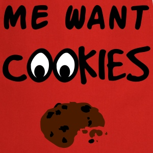 Me Want Cookies Tabliers - Tablier de cuisine