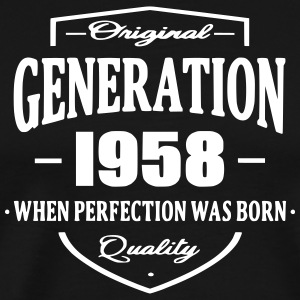 Generation 1958 T-Shirts - Men's Premium T-Shirt