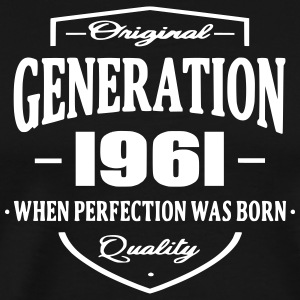 Generation 1961 T-Shirts - Men's Premium T-Shirt
