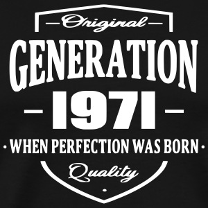 Generation 1971 T-Shirts - Men's Premium T-Shirt