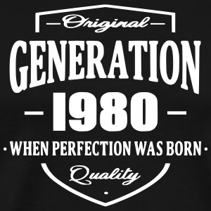 Generation 1980 T-Shirts - Men's Premium T-Shirt