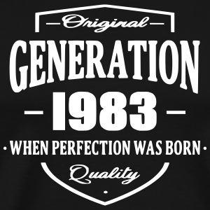 Generation 1983 T-Shirts - Men's Premium T-Shirt