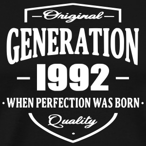 Generation 1992 T-Shirts - Men's Premium T-Shirt