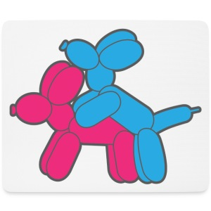 funny baloons - Mouse Pad (horizontal)