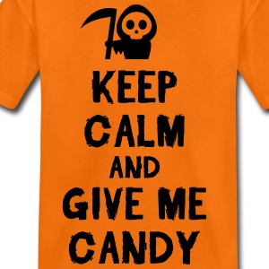 Orange Keep cam and give me candy Tee shirts - T-shirt Premium Ado