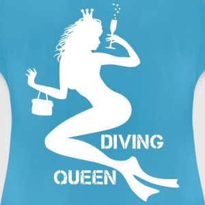 Diving Queen - Frauen T-Shirt atmungsaktiv