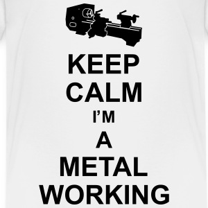keep_calm_i'm_a_metalworking_g1 Shirts - Teenage Premium T-Shirt