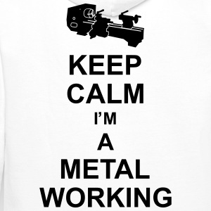 keep_calm_i'm_a_metalworking_g1 Gensere - Premium hettegenser for menn