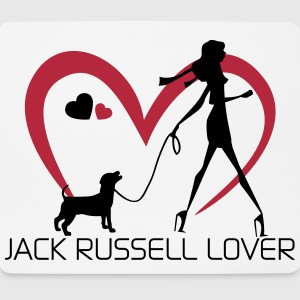 Jack Russell Lover - Dog Lover Altro - Tappetino per mouse (orizzontale)