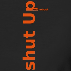 shut up and reboot T-Shirts - Frauen Bio-T-Shirt