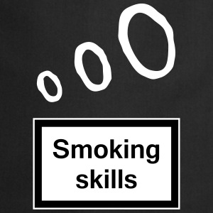Smoking skills Aprons - Cooking Apron