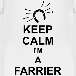 keep_calm_i'm_a_farrier_g1 T-Shirts - Kinder Premium T-Shirt