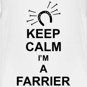 keep_calm_i'm_a_farrier_g1 Shirts - Teenage Premium T-Shirt