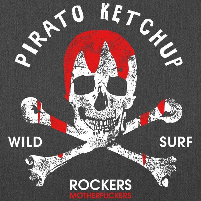 Pirato Ketchup'ed Skull (vinyls bag)