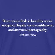 Design ~ David France Quote: Standard shirt