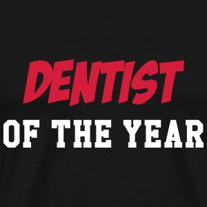 Dentist of the year T-shirts - Herre premium T-shirt
