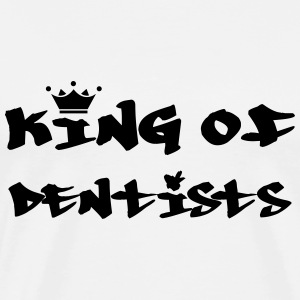 King of Dentists T-skjorter - Premium T-skjorte for menn