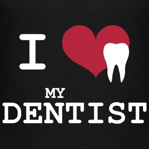 I Love my Dentist Skjorter - Premium T-skjorte for barn