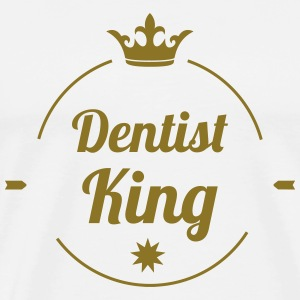 Dentist King T-shirts - Herre premium T-shirt