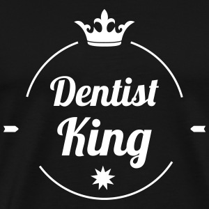 Dentist King T-skjorter - Premium T-skjorte for menn