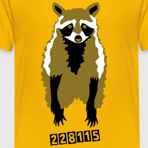 Waschbär T-Shirts - Teenager Premium T-Shirt
