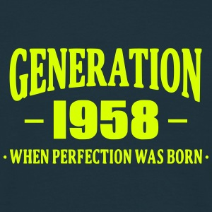 Generation 1958 Tee shirts - T-shirt Homme