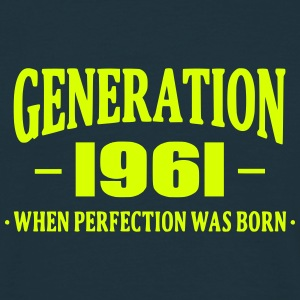 Generation 1961 T-shirts - Mannen T-shirt