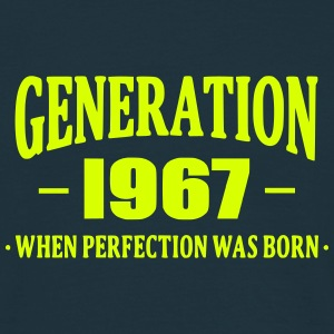 Generation 1967 T-shirts - Mannen T-shirt