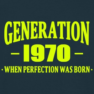 Generation 1970 Tee shirts - T-shirt Homme