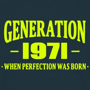 Generation 1971 T-shirts - Mannen T-shirt