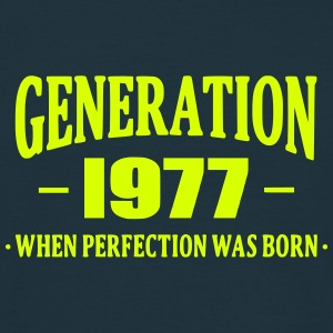 Generation 1977 T-shirts - Mannen T-shirt