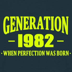 Generation 1982 T-shirts - Mannen T-shirt