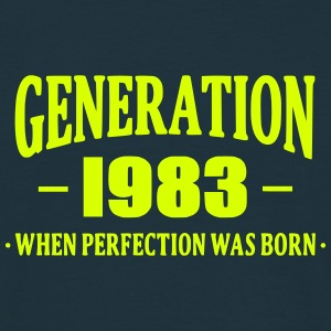 Generation 1983 T-shirts - Herre-T-shirt