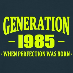 Generation 1985 T-shirts - Herre-T-shirt