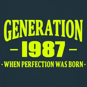 Generation 1987 T-shirts - Herre-T-shirt