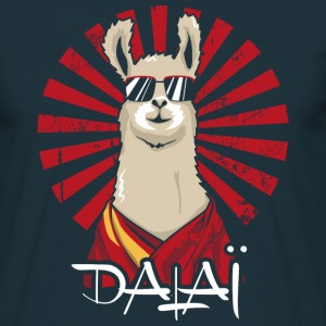 Navy Dalai T-Shirts - Men's T-Shirt