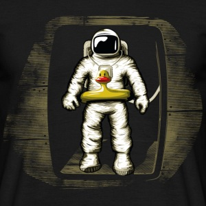 Black Astronaut T-Shirts - Men's T-Shirt