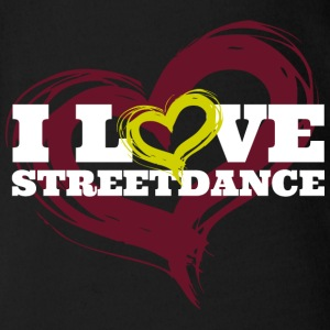 I Love Streetdance BIG T-Shirts - Baby Bio-Kurzarm-Body