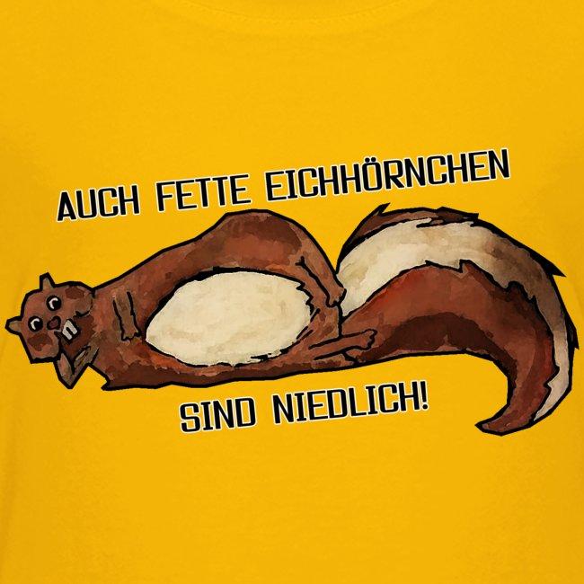 Fette Eichhörnchen Männer