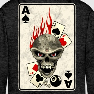 poker card Hoodies & Sweatshirts - Men's Premium Hoodie