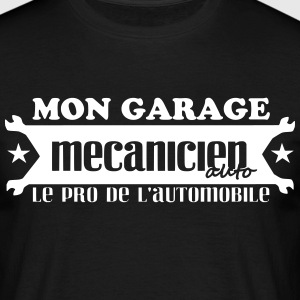 dessin-3automobile.svg Tee shirts - T-shirt Homme