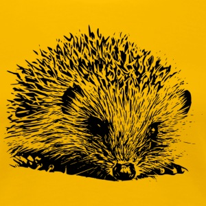 hedgehog T-Shirts - Women's Premium T-Shirt