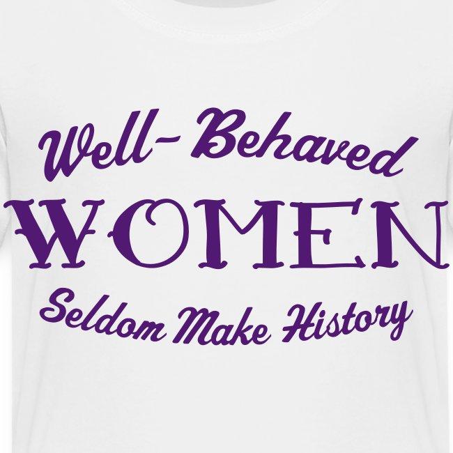 """Well-Behaved"" Kid's Premium T-Shirt"