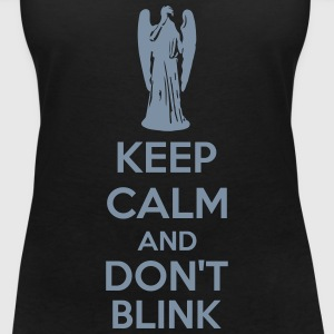 Keep Calm And Don't Blink T-Shirts - Women's V-Neck T-Shirt