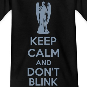 Keep Calm And Don't Blink T-shirts - T-shirt barn