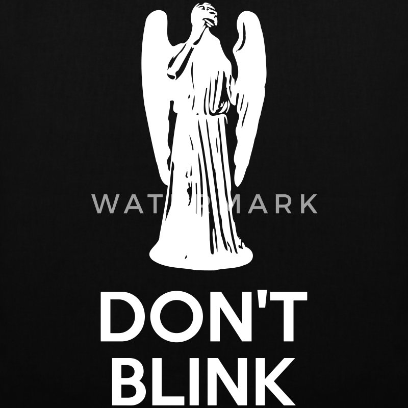 Don't Blink Bags & Backpacks - Tote Bag