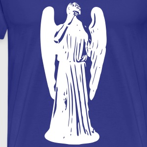 Don't Blink, Weeping Angel T-shirts - Herre premium T-shirt
