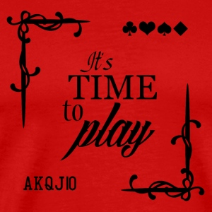 It's Time to Play - T-shirt Premium Homme