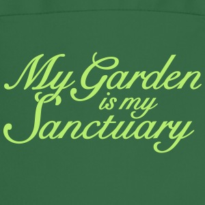 My Garden is my Sanctuary Gardener's Quote  Aprons - Cooking Apron